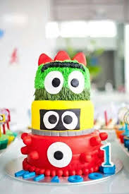 yo gabba gabba birthday cake3d cards 35 best src kid s cakes images on anniversary ideas