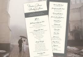 vintage wedding programs color monday vision of wedding programstruly engaging