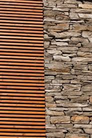 home design old wood slat wall background royalty free stock