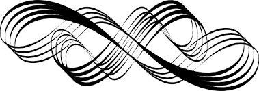 janelle swirl design black clip at clker com vector clip