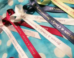 personalized ribbons personalized ribbon etsy