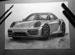 porsche cars white porsche 911 porsche car drawing car drawing 911 car art