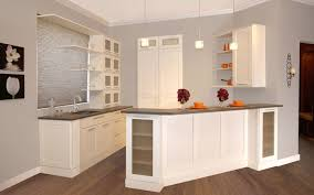 Fabuwood Shaker Linen InStock Kitchen Cabinets Cabinets - Stock kitchen cabinets