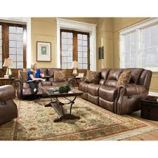 Recliner Living Room Set Cambridge Stratton 3 Chocolate Sofa Loveseat And Recliner