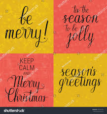 be merry tis season be jolly stock vector 352451528