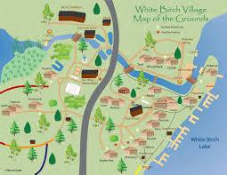 Map Of Door County Wisconsin by White Birch Village Resort Boulder Junction Northern Wisconsin