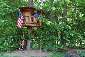 with elaborate treehouses on the rise they u0027re still a labor of