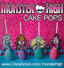 monster cake pops chica jo