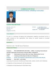 Sample Civil Engineering Resume by Civil Engineering Cv Resume Sample Pics Photos Civil Engineering