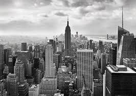 new york city wallpapers wallpaper cave wall mural new york city black white photo wallpaper 368x254cm