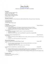 cover letter for resume examples for students amazing student