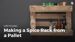pallet ideas make a spice rack recycling pallets sikana