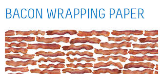 bacon wrapping paper free bacon themed wrapping paper while supplies last