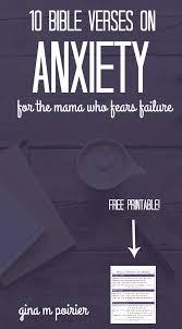 10 bible verses anxiety u2014for mama fears failure