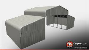 Open Carport by Open County Style Metal Barn 40 U0027 X 26 U0027 X 12 U0027 County Style Metal