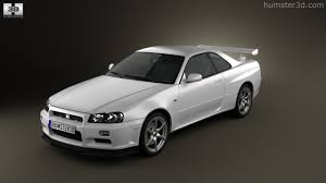 nissan coupe 2010 360 view of nissan skyline r34 gt r coupe 1999 3d model hum3d store
