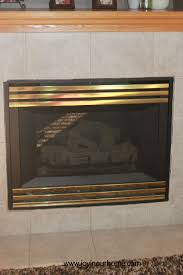 spray paint fireplace makeover joy in our home
