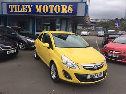 used vauxhall corsa active manual cars for sale motors co uk
