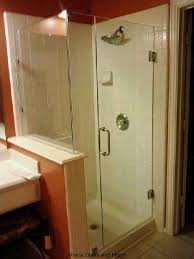 Shower Stalls With Glass Doors Frameless Shower Glass Doors And Enclosure For Todays Bathroom