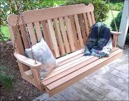 amazon com cedar classic porch swing 6ft patio lawn u0026 garden