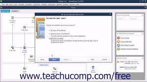 quickbooks pro 2016 tutorial setting up users intuit training