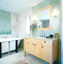 glass tile backsplash in bathroom bathroom glass tile bathroom