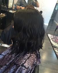 lob haircut dark wavy hair in love with my hair lob haircut black hair short hair curls long