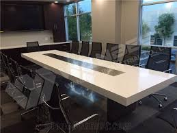 10 seater conference table new products comfortable artificial quartz stone 10 seater