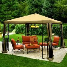 outdoor gazebo design with comfortable furniture whomestudio com