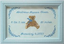 personalized gifts baby custom embroidery personalized gifts framed