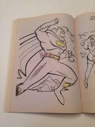vintage 1997 batman robin guardians gotham coloring book