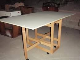 diy folding sewing table folding sewing cutting table table decoration ideas