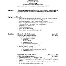 Examples Of Accounting Resumes by Entry Level Sales