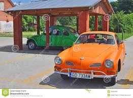 classic volkswagen cars two vintage cars volkswagen and citroen editorial photography