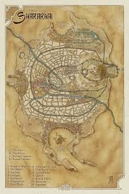 Desert Map Maps Of The Song Of The Shattered Sands U2013 Bradley P Beaulieu
