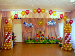 simple balloon decorations at home decorating of party