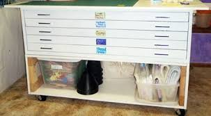 Map Drawers Cabinet Balzer Designs Organization Week Storage Containers
