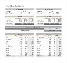 Excel Personal Budget Template 569 Best Budget Template Images On Budget Templates