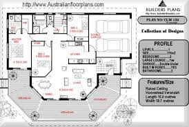 House Plan Australia Residential House Plans 4 Bedroomscar Garage House Plans Australia