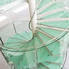 Spiral Stair Handrail Glass Spiral Stair Railing Home Pinterest Glass Stairs