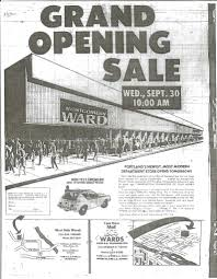 mall 205 stores montgomery ward mall 205 grand opening sale from the septe flickr