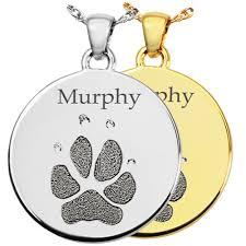 pet memorial jewelry disc paw print pet memorial jewelry memorial gallery pets