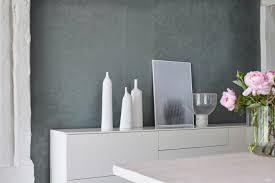 Esszimmer Design Schwarz Weis Kontraste Zusammen Wohnen Wohnung Gemeinsam Einrichten Alpina Einziehen