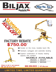 boom lifts inventory new tec inc