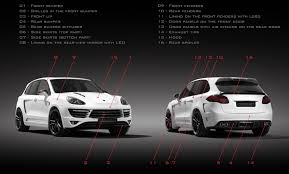 Porsche Cayenne Parts - tuning porsche cayenne turbo 958 gtr 2 topcar