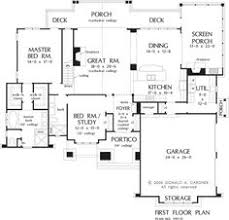 first floor plan of the andalusia house plan number 1190 d love