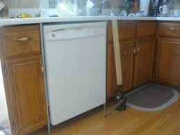 how to raise cabinets the floor replacing dishwasher with a raised floor homebuilding