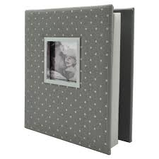white photo albums polka dot photo album gray white holds two 4 x6 photos per page