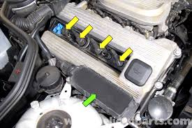 bmw z3 spark plug ignition wire and coil replacement 1996 2002