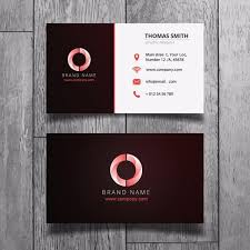 simple corporate business card template free download on pngtree